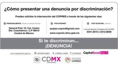 Denuncia por discriminación